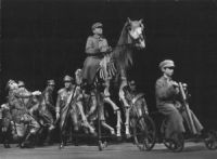 A scene from the play Marshal and his generals  A group scene  photo Marek Grotowski