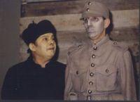 """Wuj Józef Ksiądz, Ojciec Marian - """"Wielopole, Wielopole"""", 1980 w zbiorach Cricoteki"""