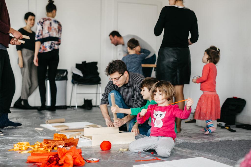 Rodzinne warsztaty dla dzieci w Cricotece. Fot. Studio FILMLOVE