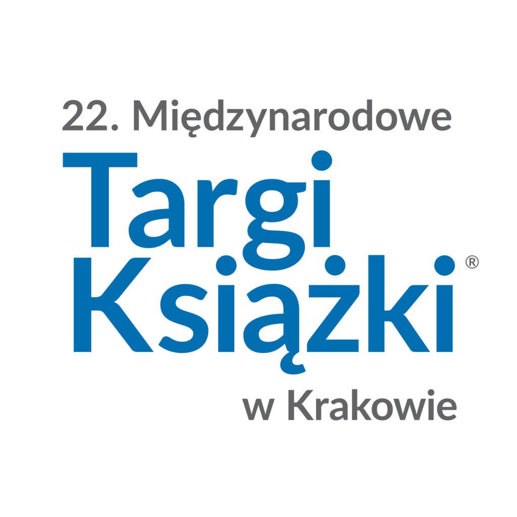 Grafika z logiem Międzynarodowych Targów Książki w Krakowie