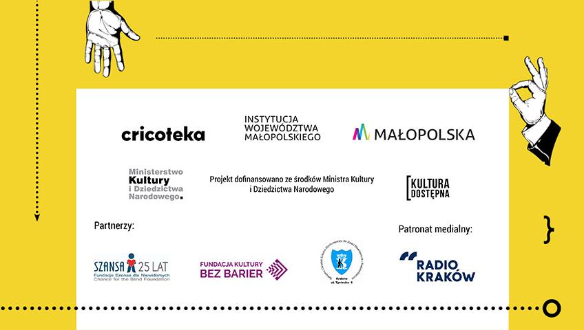Stopka z logotypami partnerów i fundatorów projektu Wiedzieć więcej