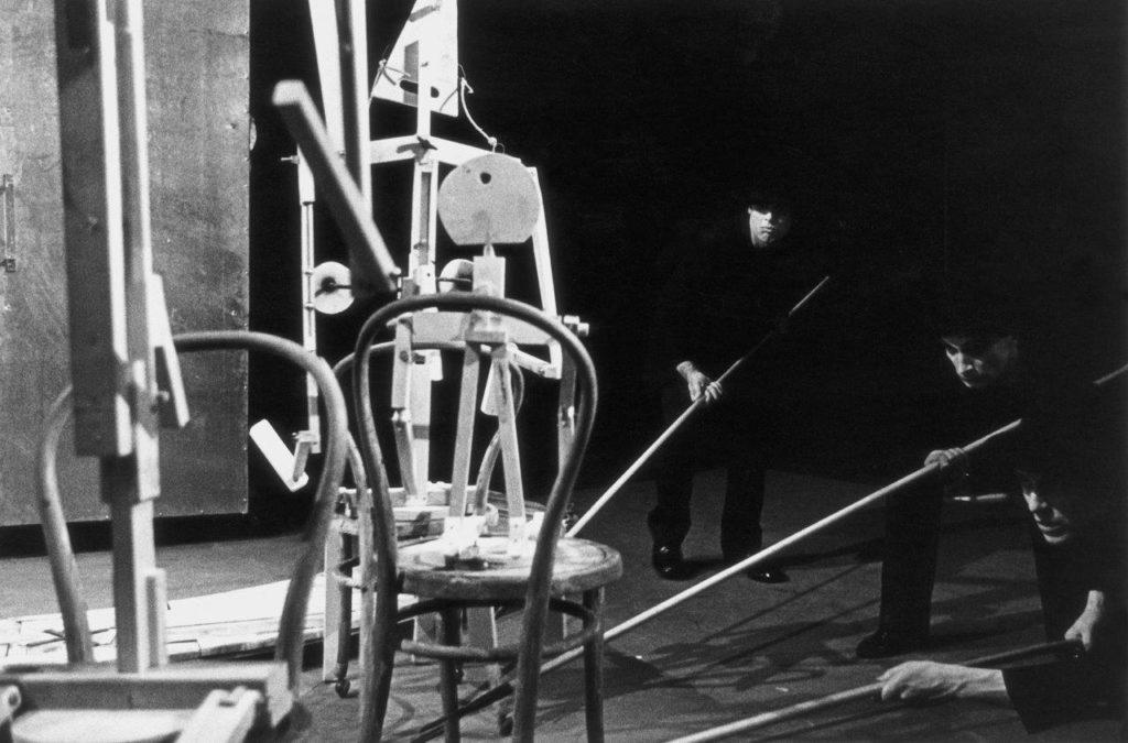 Fotografia ze spektaklu Maszyna Miłości i Śmierci, 1987, Fot. nieznany