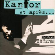 Plakat z sylwetką Kantora