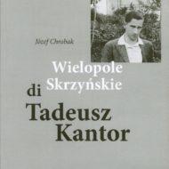 Okładka ze zdjęciem Młodego Tadeusza Kantora