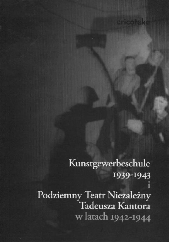 Czarno-biała okładka z sylwetkami postaci