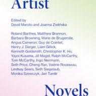 okładka z niebieskim napisem Artist Novels i nazwiskami autorów