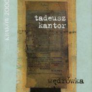 Okładka ze zdjęciem notatek Tadeusza Kantora