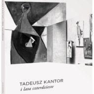 Czarno-biała okładka z obrazami Tadeusza Kantora