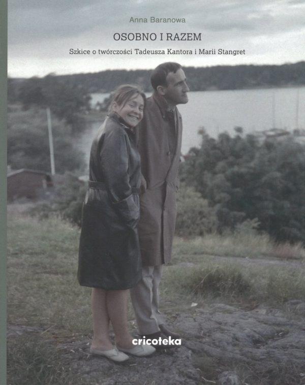 Okładka ze zdjęciem Marii Stangret i Tadeusza Kantora