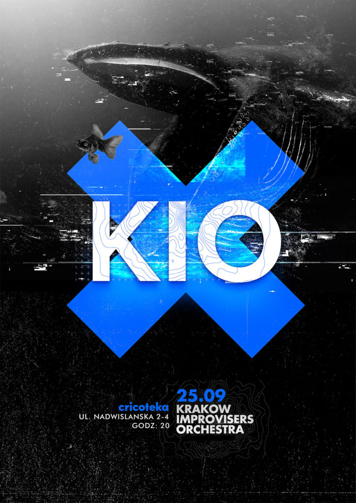 Plakat koncertu KIO 25.09.2018