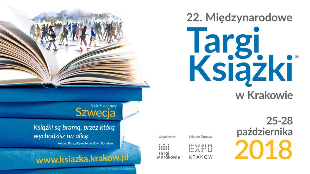 Grafika promocyjna 22. Targów Książki w Krakowie