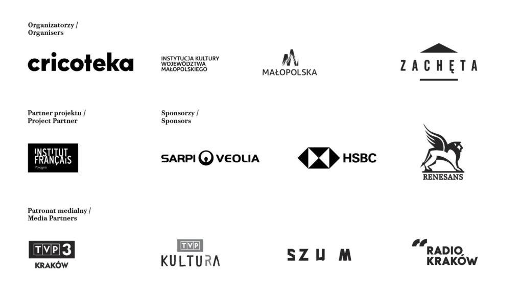 logotypy partnerów wystawy