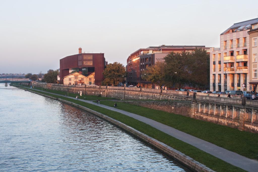 Na zdjęciu widać Budynek Cricoteki