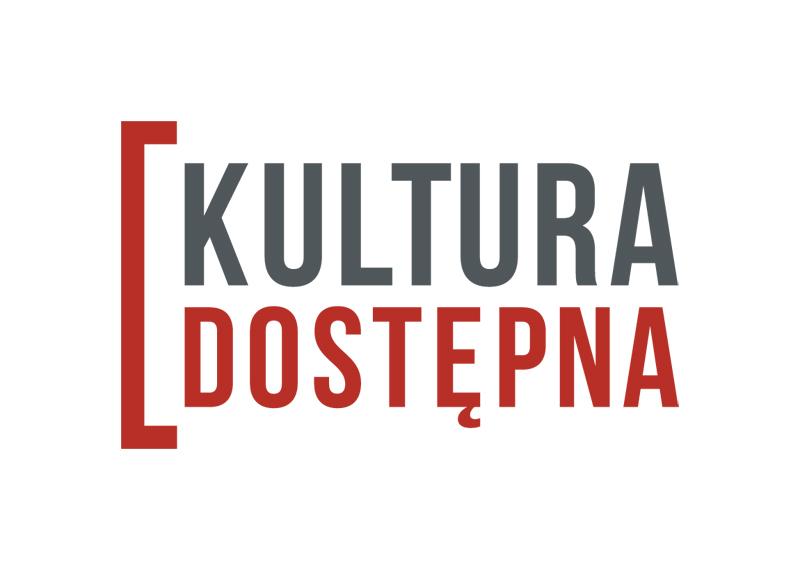 logotyp kultura dostępna