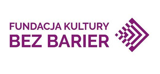 Logotyp Fundacja Kultury bez Barier