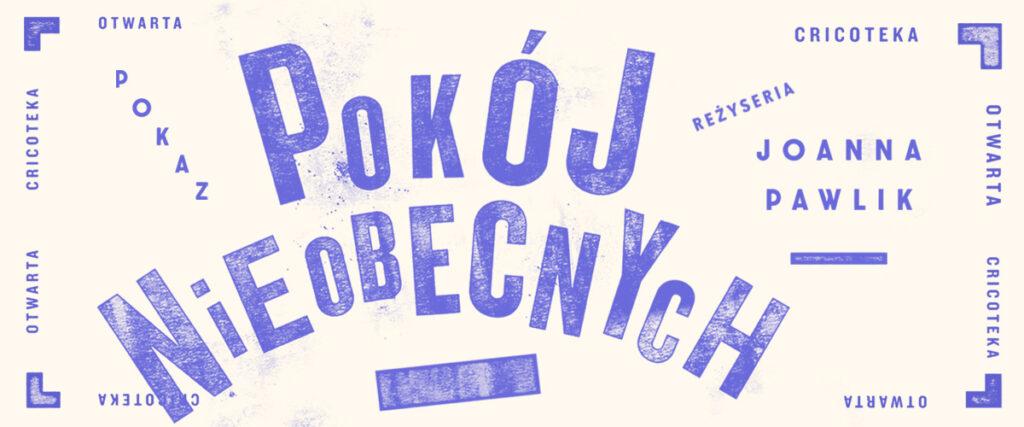 Grafika z napisem Pokój nieobecnych